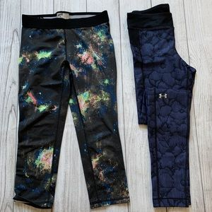 Athletic Leggings UA and Soffe 2 pack